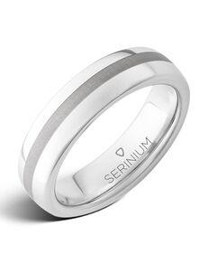 Serinium® Collection Soho Slim — Satin Finish Serinium® Ring-RMSA001831 Serinium® Wedding Ring