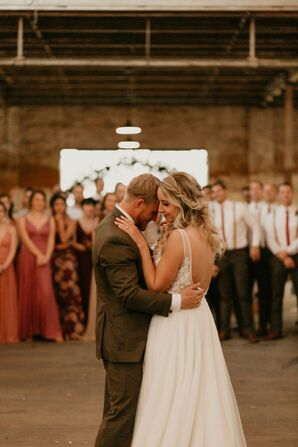 Industrial First Dance at The Glass Factory in Jacksonville, Florida