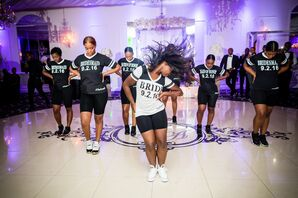 Beyonce-Inspired Bridesmaid Performance