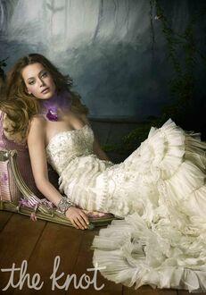 Lazaro 3059 A-Line Wedding Dress