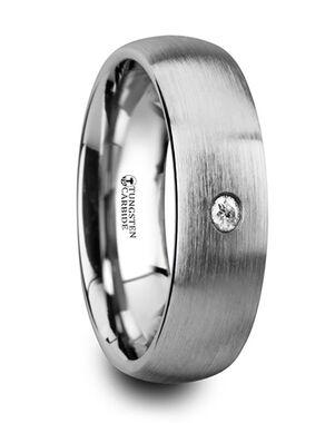 Mens Tungsten Wedding Bands W4277-DBWD Tungsten Wedding Ring