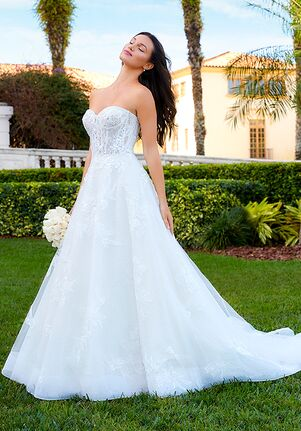 Adrianna Papell Platinum 31191 Ball Gown Wedding Dress