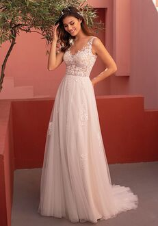WHITE ONE MEGAN Ball Gown Wedding Dress