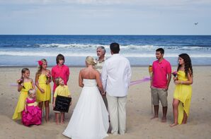 Waterfront Ceremony on Croatan Beach