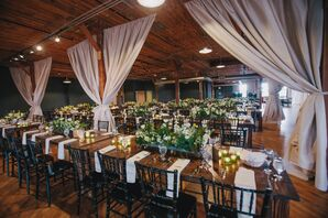 Rustic Loft Reception