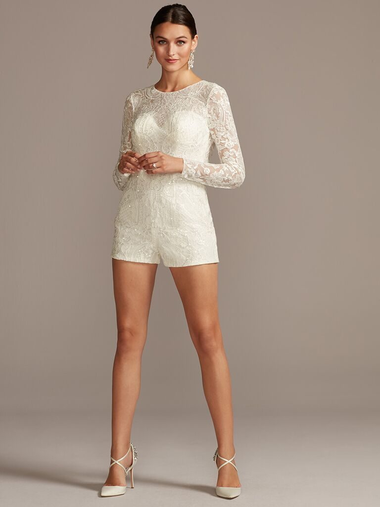 Galina Signature wedding romper