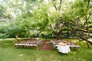 Shaded  Mountain Magnolia Inn Ceremony