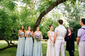 Pistachio Convertible Jenny Yoo Bridesmaid Dresses