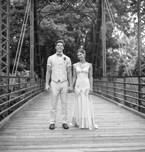 Mia and David's Rustic North Carolina Nuptials
