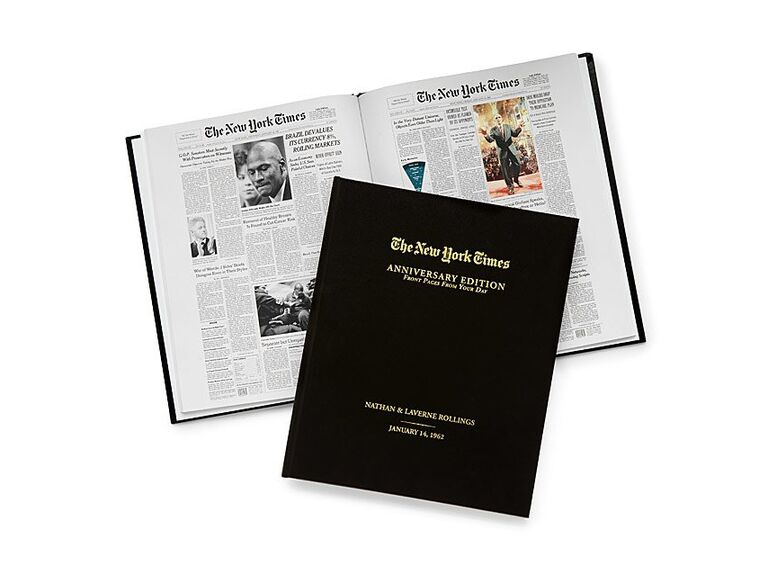 New York Times front page anniversary book