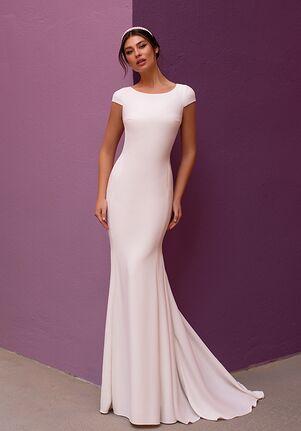 WHITE ONE SHASTA Mermaid Wedding Dress