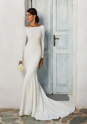 Justin Alexander 8936 Sheath Wedding Dress