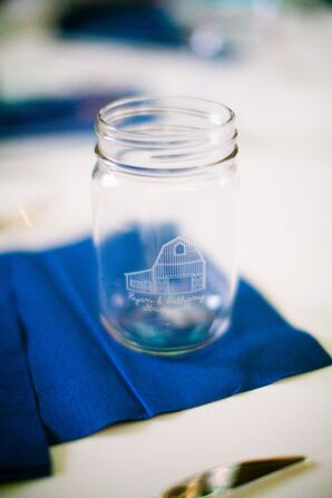 Custom Mason Jar Wedding Favors