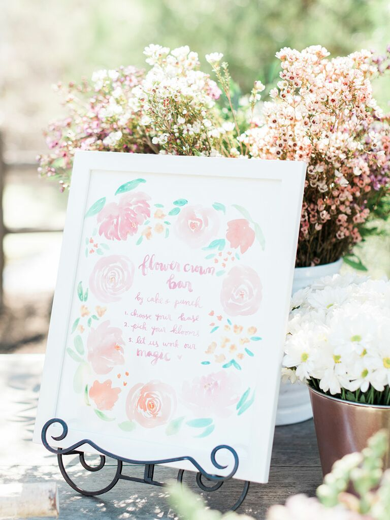 Tea party-themed bridal shower hands on activities