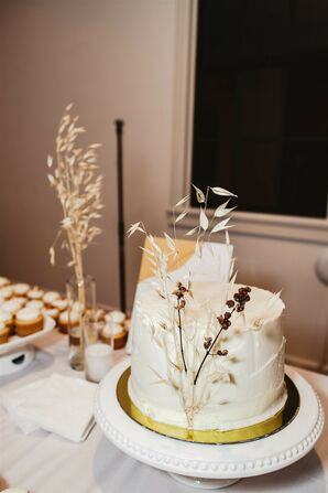 Dessert Table at Modern and Minimal Wedding in San Diego, California