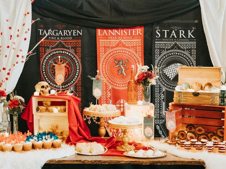 game of thrones bridal shower