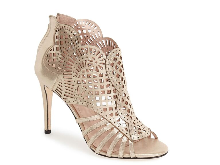 Klub Nico laser-cutout wedding shoe