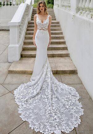 Blue by Enzoani Malia Mermaid Wedding Dress