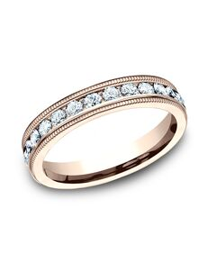 Benchmark 534550R Rose Gold Wedding Ring