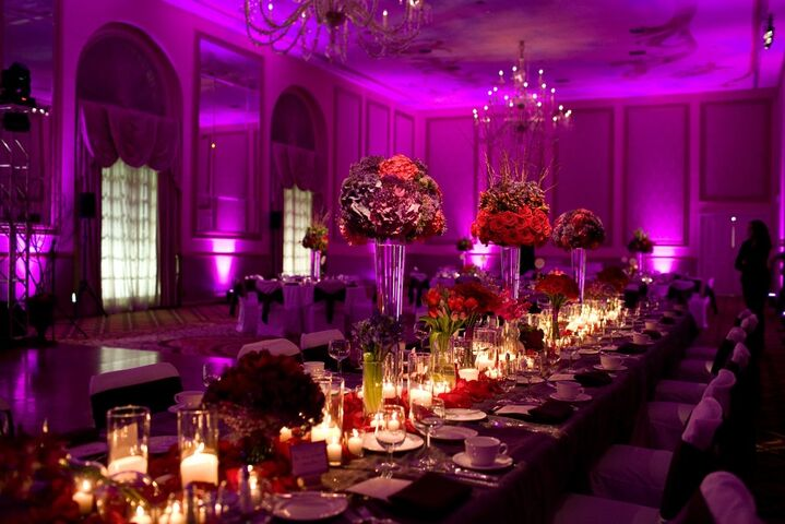 The adolphus dallas tx for Ball room decoration