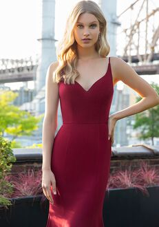 Hayley Paige Occasions 5858 V-Neck Bridesmaid Dress