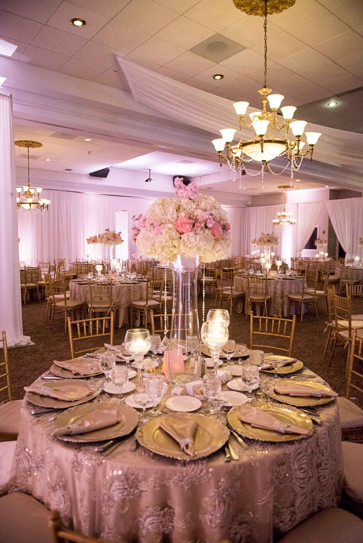Reception Palace Ballrooms - Miami, FL