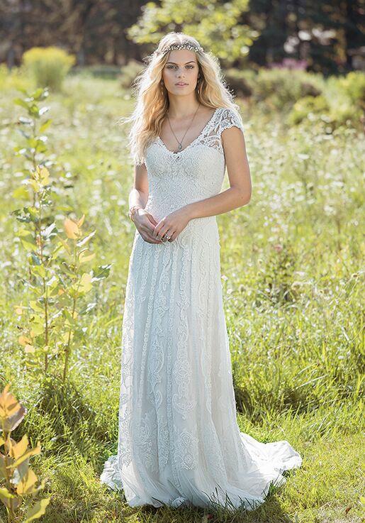 Lillian West 6482 A-Line Wedding Dress