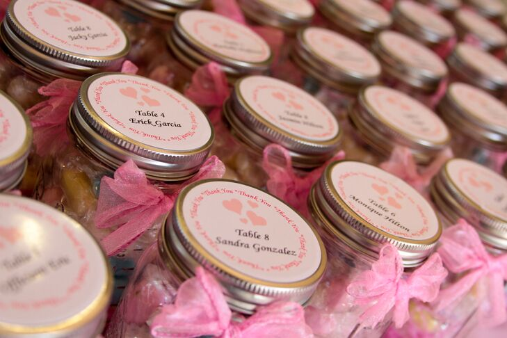 Diy Mason Jar Escort Cards And Wedding Favors