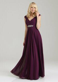Allure Bridesmaids 1334 V-Neck Bridesmaid Dress