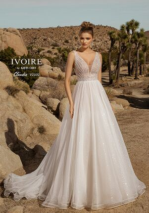IVOIRE by KITTY CHEN CLAUDIA,V2102 A-Line Wedding Dress