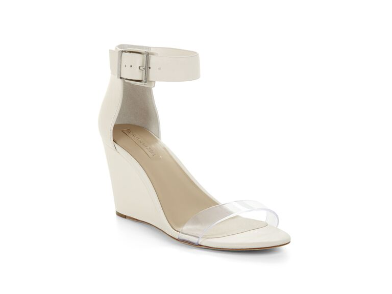 BCBG wedding wedges
