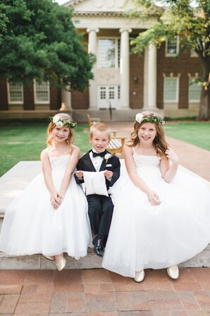 Classic Formal Flower Girls and Ring Bearer