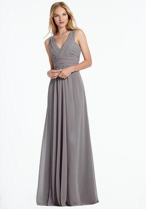 Monique Lhuillier Bridesmaids 450067 V-Neck Bridesmaid Dress