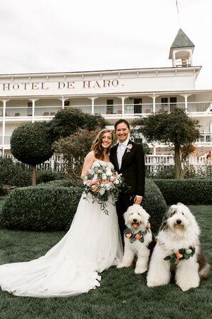 Romantic Rose Floral Dog Collars