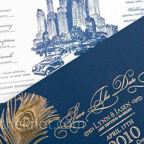 Cityscape Wedding Invitations