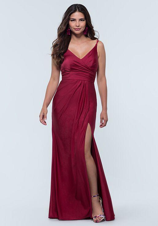 Kleinfeld Bridesmaid KL-200131 V-Neck Bridesmaid Dress
