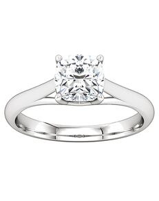 ever&ever Classic Asscher, Cushion, Emerald, Round, Oval Cut Engagement Ring