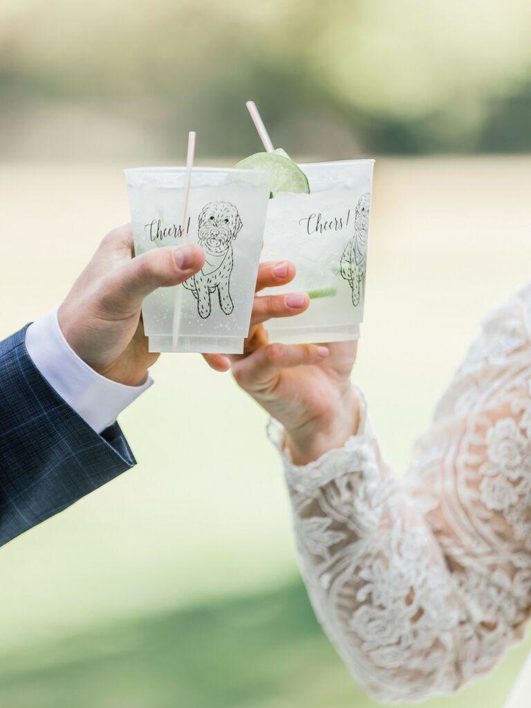 wedding drink ideas vodka soda