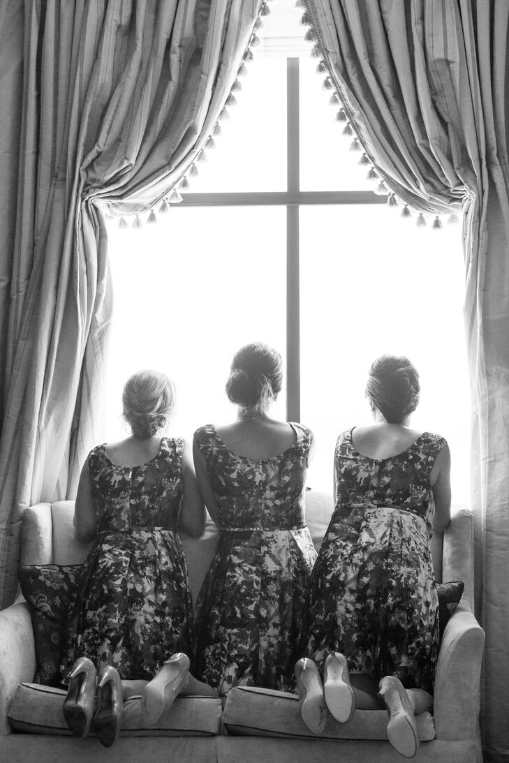 Elegant Bridesmaid Updo