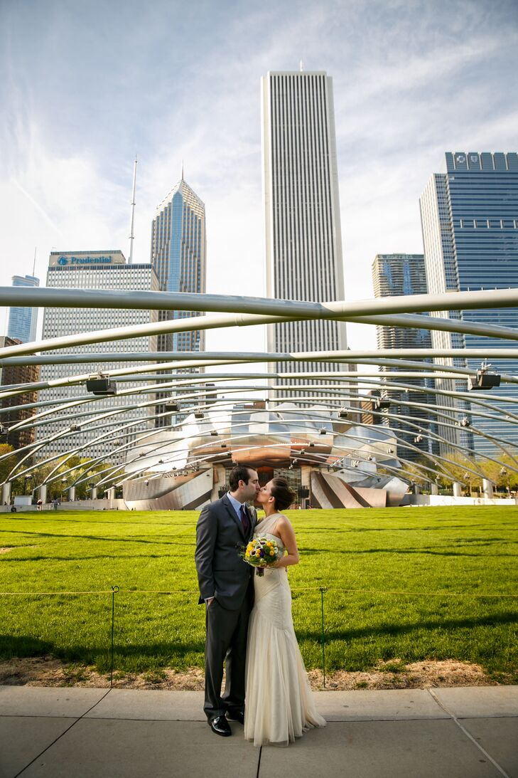 Millennium Park Wedding Reception