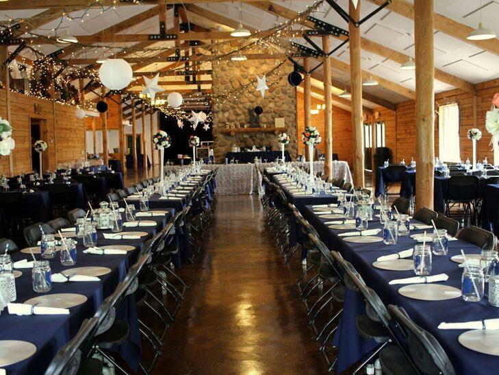 Event lodge at Williams Tree Farm in Rockton, Illinois