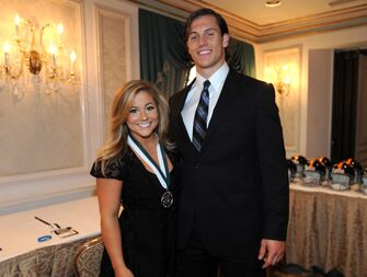 shawn johnson and andrew east in 2013