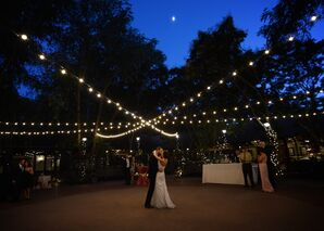 Kelsey and Andrew's Courtyard First Dance