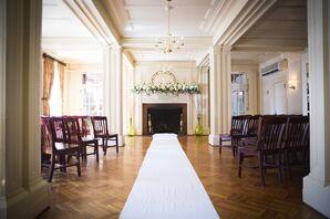 Lincklaen House Wedding Ceremony