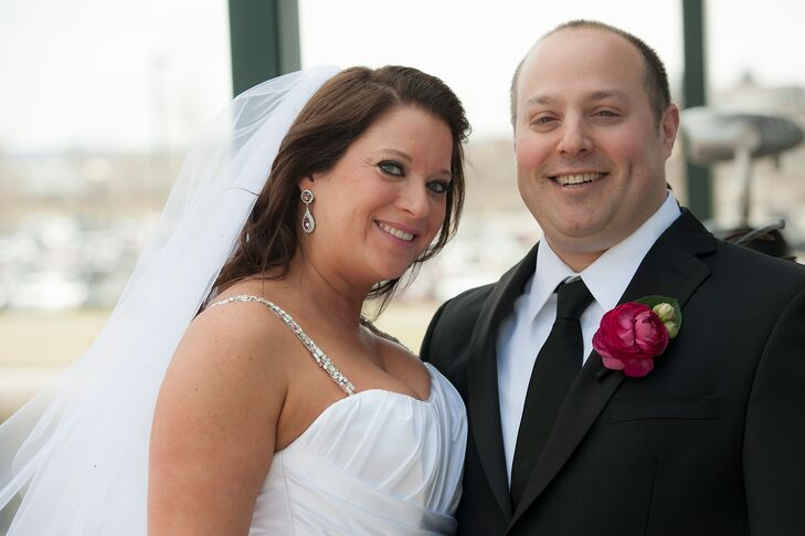 Emily Weiner (34 and an attorney) and Corey Kronengold (40 and in marketing) met online but soon realized that they had crossed paths multiple times i