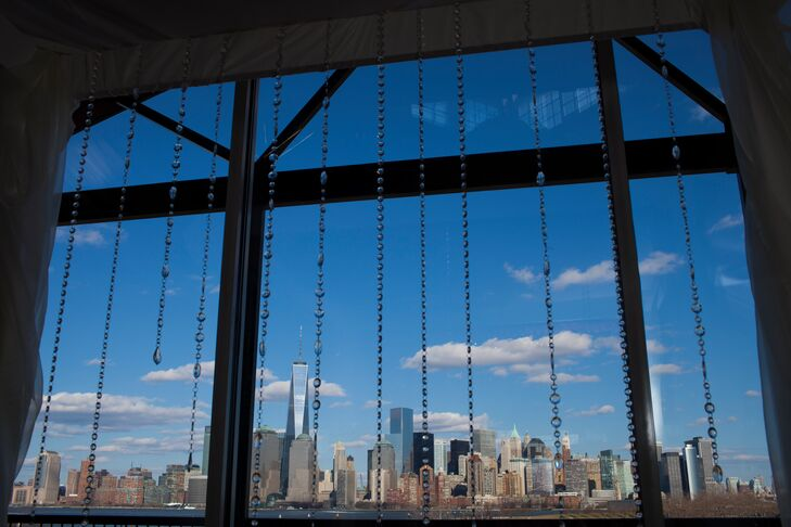 The Liberty House Restaurant provided scenic views of the New York City skyline.
