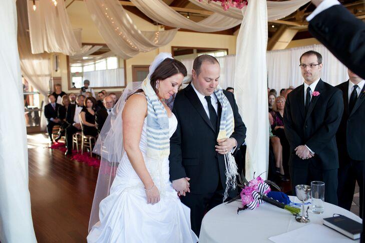 Traditional Jewish Wedding Ceremony at Liberty House Restaurant