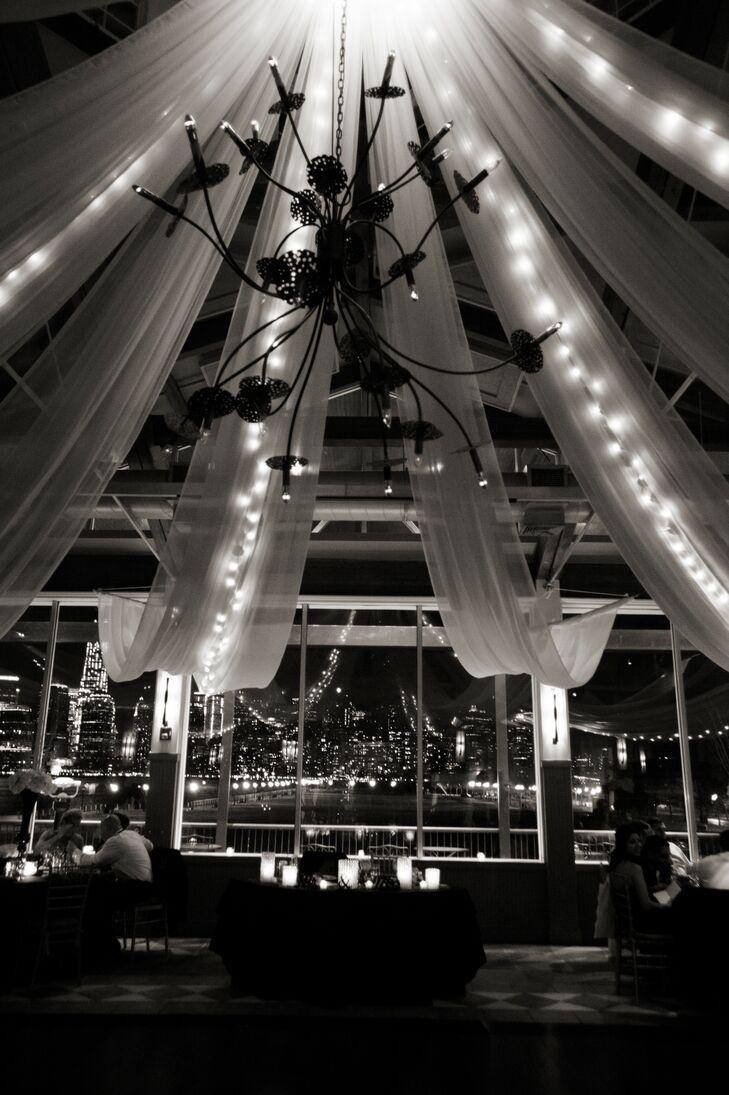 Elegant Wedding Reception at Liberty House Restaurant