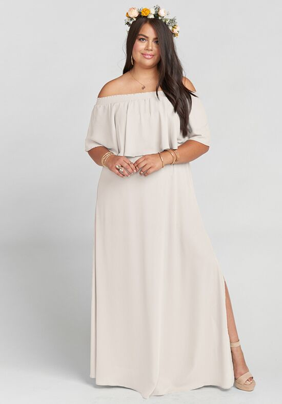 7c78a5769b0 Show Me Your Mumu Hacienda Maxi Dress - Show Me the Ring Crisp Bridesmaid  Dress - The Knot