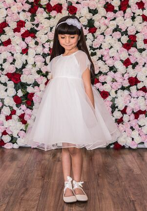 Kid's Dream C204 Green Flower Girl Dress